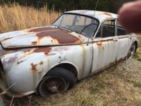 1960 Jaguar 3.8 sedan, great for parts or restoration.