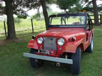 Year : 1960 Make : Jeep Model : CJ Exterior Color :