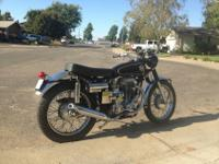 1960 Matchless G80TCS TyphoonIt has recently been