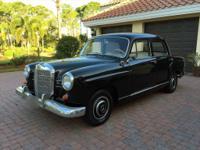 1960 Mercedes-Benz 190-Series Ponton B W121  71k miles.