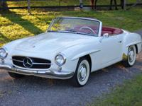 This absolutely stunning 190 SL Roadster comes with