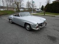 1960 Mercedes 190SL that is very presentable as it is.