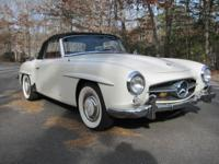 1960 MERCEDES BENZ 190SL THIS CAR HAS ONLY BEEN DRIVEN