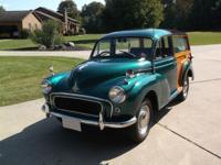 1960 Morris Traveler 1000 -Original motor and drive