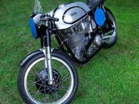 HISTORY: This Manx Norton was one of the last of the