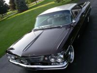 1960 Pontiac Bonneville two-door coupe with 36,662