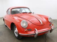 1960 Porsche 356 1600S  Porsche 356B 1600S with
