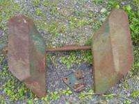 1960's-1970's Sears Suburban Tractor Rear Fenders.