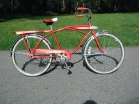"A nice mid-1960's Columbia 26"" boys tank bicycle with"