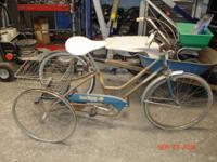 1960's Era Columbia Brand Easy Rider 3 Wheel Bicycle