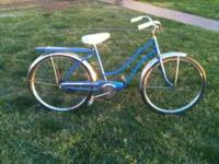 1960's western flyer girls bike. Bike is in good