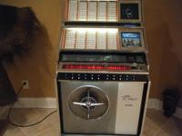The jukebox is in good condition, but needs work. It
