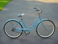 1960's VINTAGE SCHWINN TORNADO WOMENS BICYCLE I got