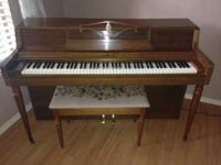 This Piano was my terrific Aunts, she hand made the