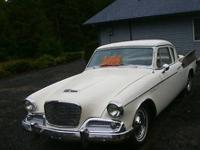 1960 Studebaker Hawk Coupe EXTRAORDENARY CAR. Restored,