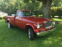 1960 Studebaker Long Bed. -Rarely does a vehicle with