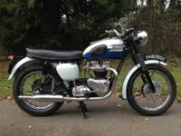 VERY RARE 1960 TRIUMPH T120 BONNEVILLE FULLY