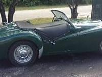 1960 TR3A Roadster Stored inside 25 years 83918 miles