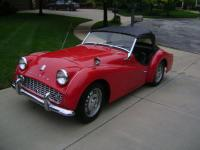 A Beautiful head turner 1960 Triumph TR3A that is in