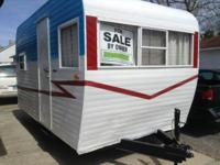 1960 Trotwood Camping Trailer. This camper has been