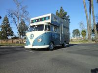 1960 Volkswagen Bus Vanagon Double Cab Camper.  For