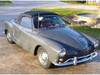 1960 Volkswagen Karmann Ghia When you talk Volkswagen
