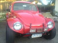 1960 VW Baja Bug. Vin # 55112013002. Gas mileage