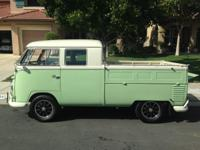 1960 VW Double Cab  It was fanatically well done and