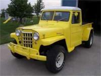 This 4 wheel drive Jeep Truck was introduced in the