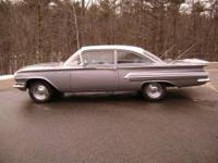Up for auction is this 1960, Chevrolet, Bel Air, 2door
