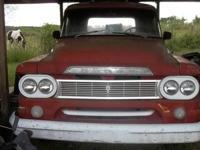 Very nice old 1960 Dodge truck. 318 ci, 3 speed on