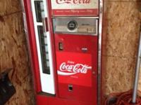 This Coke Machine was produced by the Cavalier company.
