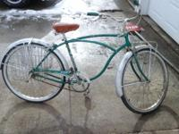 Real neat find. Schwinn boys Tiger bicycle. Needs new