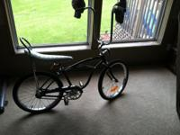 1960's Schwinn Stingray 90% restored boy's bike, Black