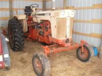 here is a very nice case 830 farm tractor 65hp had new