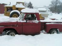 1960s Chevy Step Side Half Ton Pickup. The Truck was A