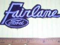 FORD ** FALCON ** Dealership Uniform Patch, approx 5''