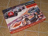 Mrklin Sprint toy race car set with original packaging