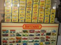 I am looking for Matchbox cars from 1965 to 1970. I pay