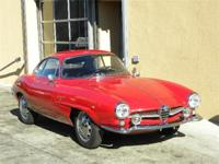 1961 Alfa Romeo Spint Speciale coupe by Bertone Based