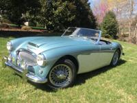 1961 Austin Healey 3000 BN7 MK2.  For sale 1961 Austin