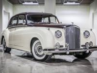 1961 Bentley S2, cream-maroon two-tone beauty with