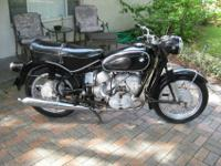 1961 BMW R69S This is a triple matching BMW, which