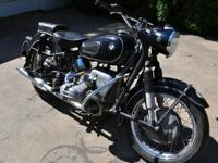 This is a really original 1961 BMW R69S that has been
