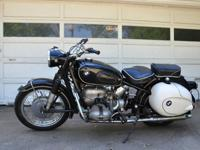 This is an extremely initial 1961 BMW R69S that has