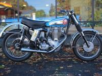 1961 BSA 500 Gold Star Catalina ScramblerAmazing