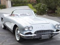 1961 Corvette Convertible with 283 Fuel Injected  one
