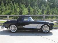 1961 saw updated styling touches to the Corvette as it