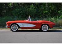 This Rare 1961 Chevy Corvette Fuel Injected Convertible