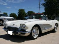1961 CORVETTE. 315HP FACTORY FUEL INJECTION 4 SPEED.